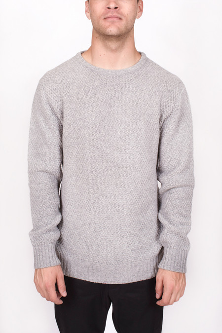 Men's Soulland Rickets Honey Comb Sweater