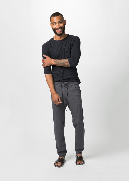 Men'sHannes Roether Ruven Drop Crotch Pant