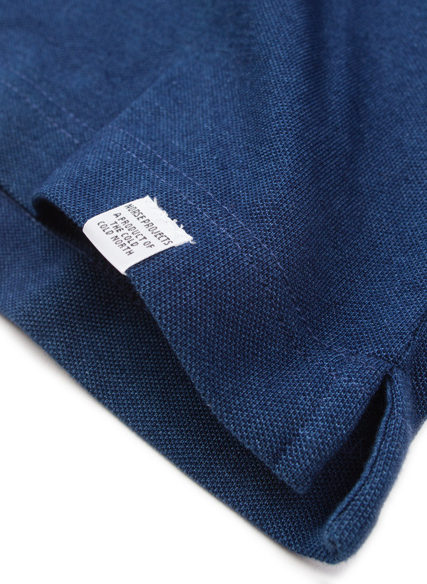 Norse Projects Rasmus Indigo Cotton SS Dark Indigo