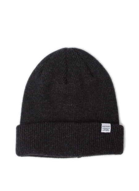 Norse Projects Norse Beanie Charcoal Melange