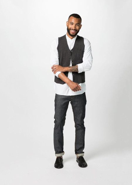 Men's Shockoe Slim Fit Stretch Denim