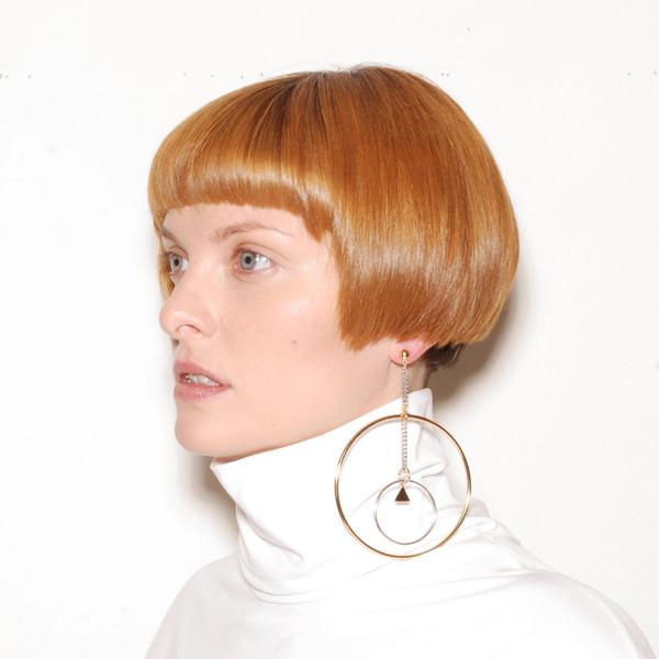 ALYNNE LAVIGNE - Drop Hoop Earrings