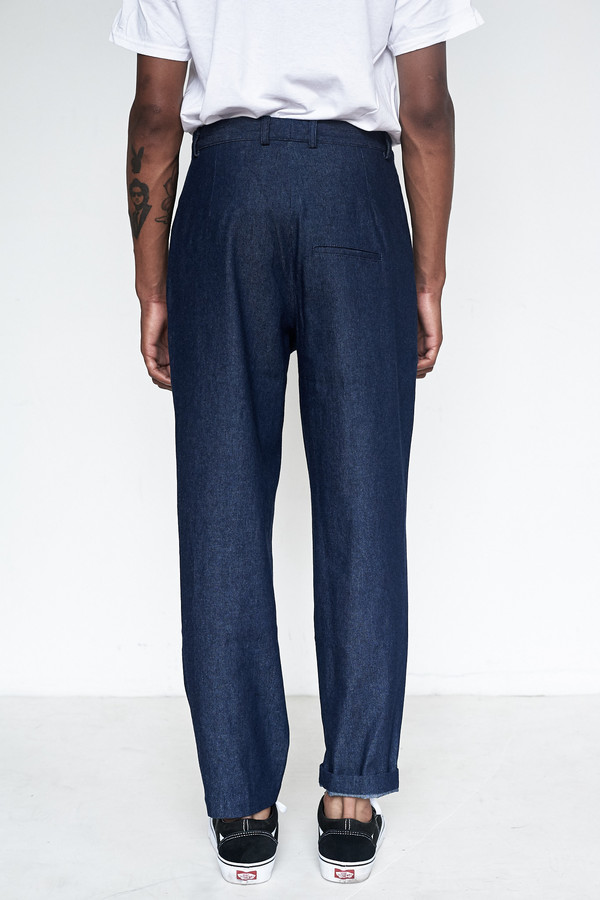 Men's Assembly New York Cotton Denim Provence Baggy Pant