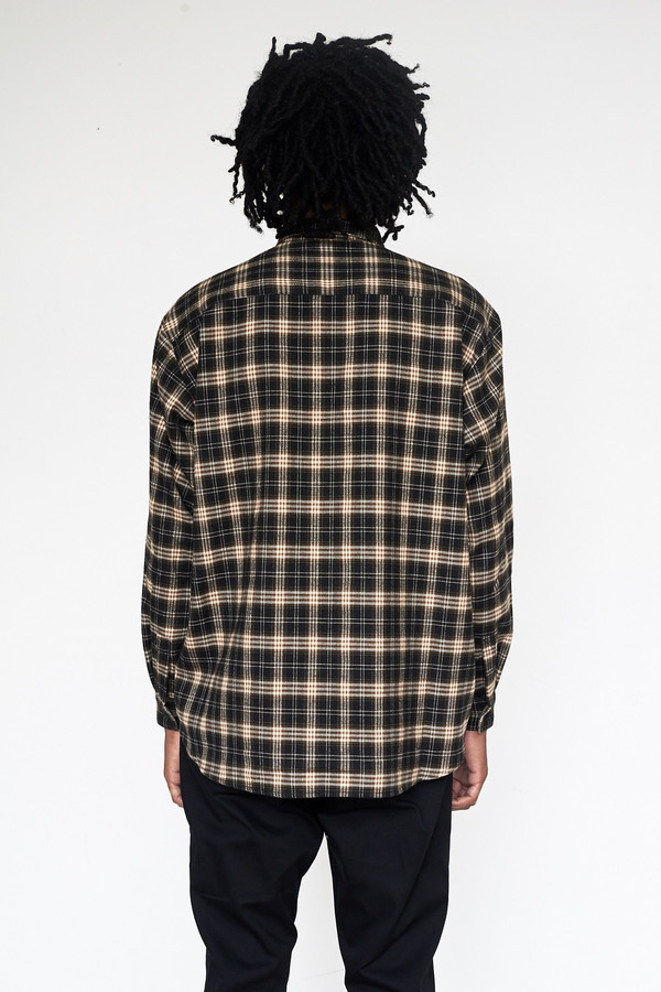 Men's Assembly New York Flannel Plaid Poet Shirt