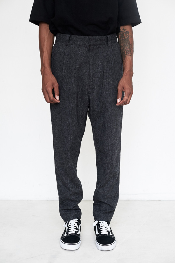 Men's Robert Geller Wool Robert Pant