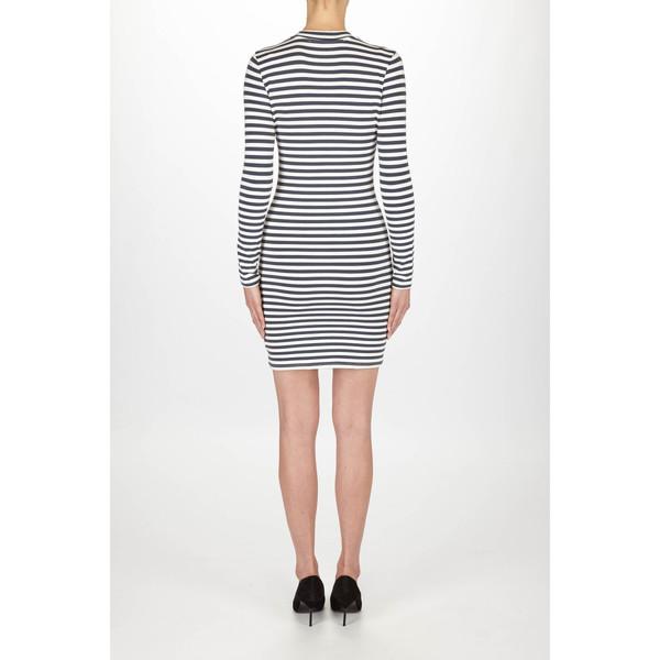 "Just Female ""Kath"" Nautical Striped Jersey Dress"