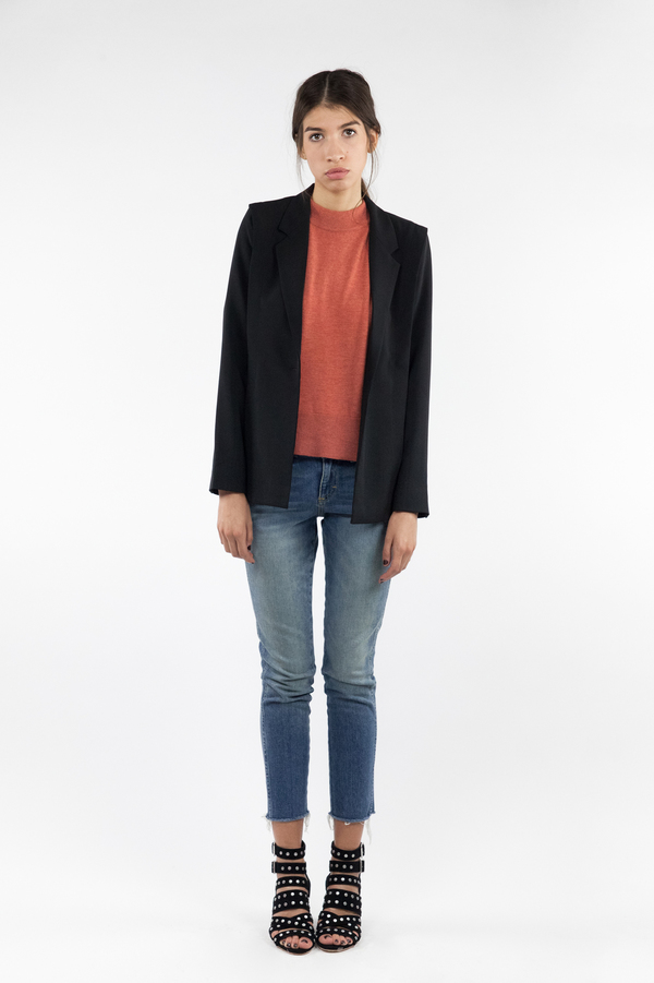 just female Tidy Blazer - Black