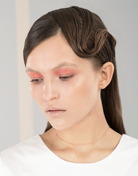 Elise Ballegeer Translucent Rosé Choker