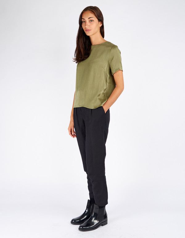 Just Female Egon Top Litchen Green