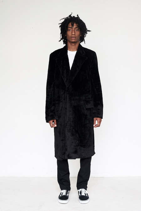 Unisex Assembly New York Faux Fur Bruxelles Overcoat