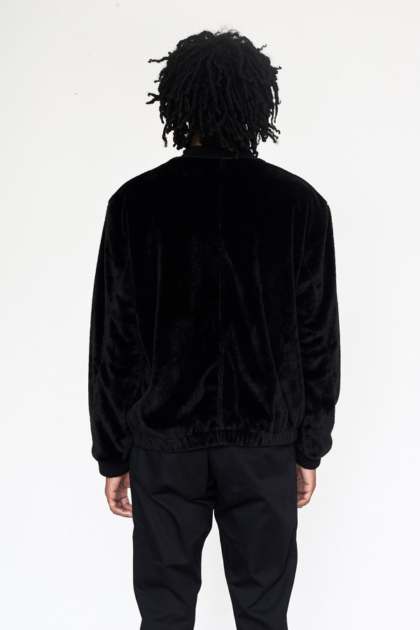 Unisex Assembly New York Faux Fur Minimalist Bomber