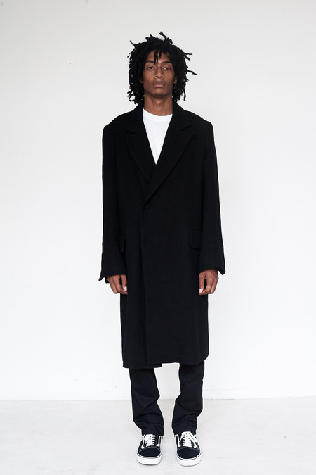 Unisex Assembly New York Wool Bruxelles Overcoat