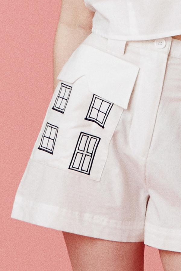 Samantha Pleet Village Shorts - White