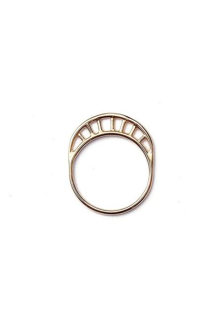 Tiro Tiro Rayos Ring 14k Gold