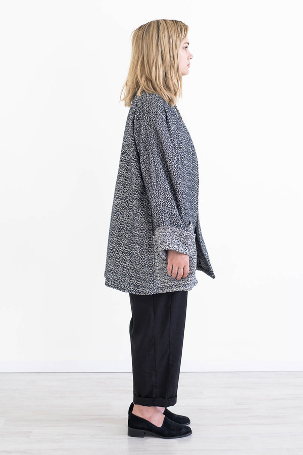 REIFhaus Yoko Jacket in Wool Tweed