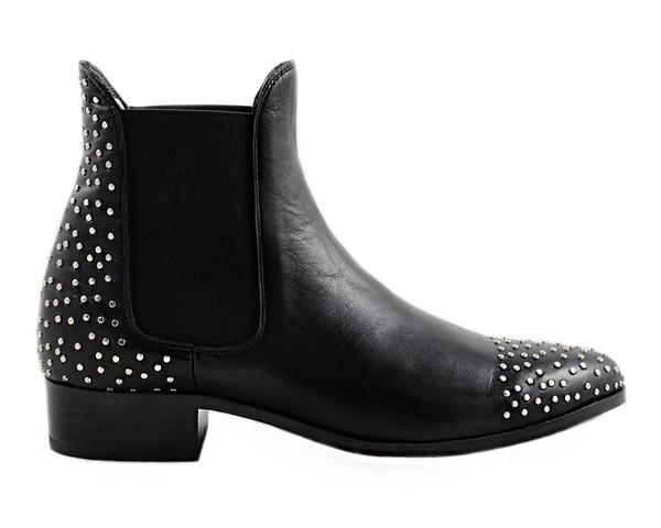 Cartel Footwear AW16 Chelsea Boot - Rocha Black Leather