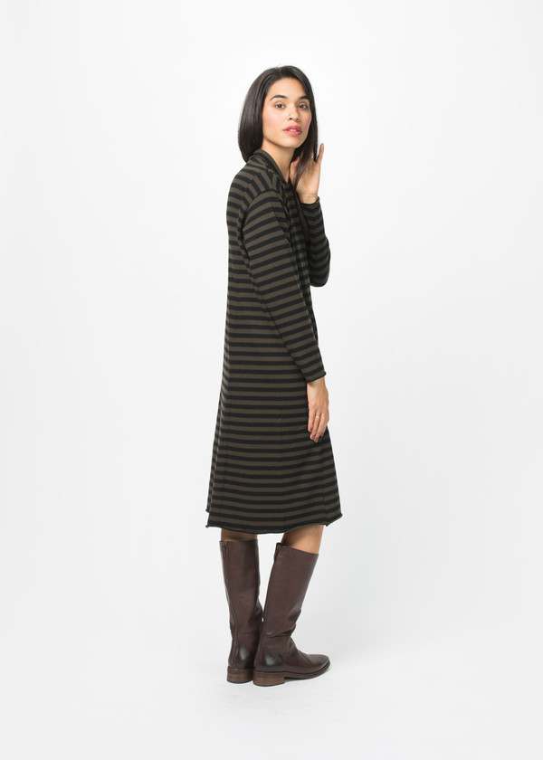Labo.Art Bill Striped Dress