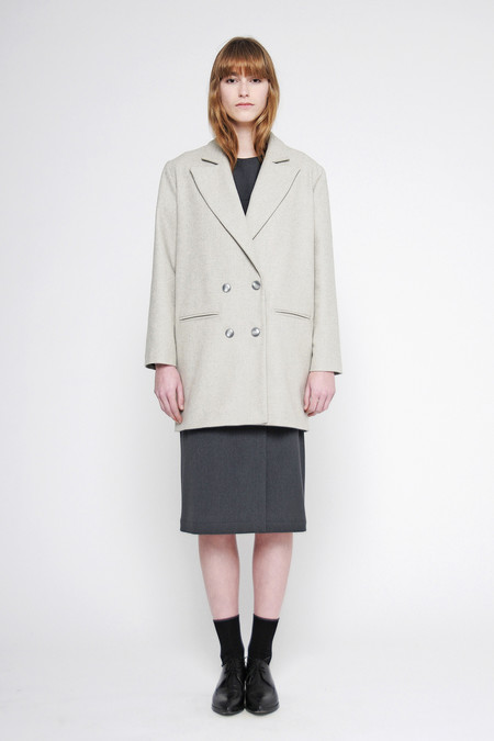 "Diarte ""Germaine"" Double Breasted Coat"