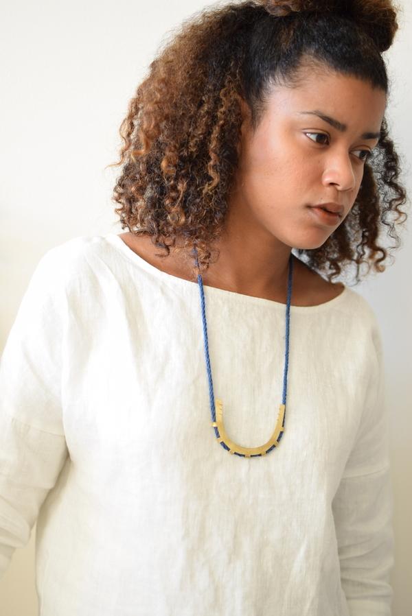 Lumafina Azur Arc Necklace