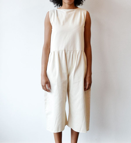 Ilana Kohn Cream Kate Jumpsuit