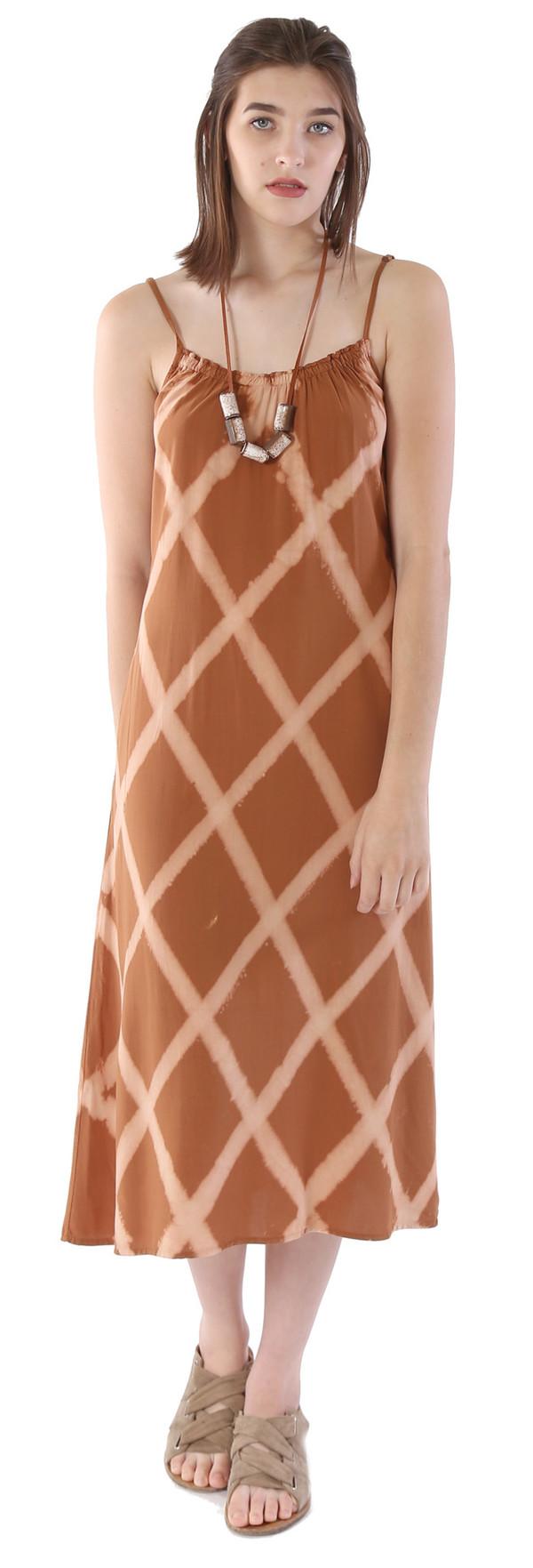 THE ODELLS Triangle Keyhole Dress