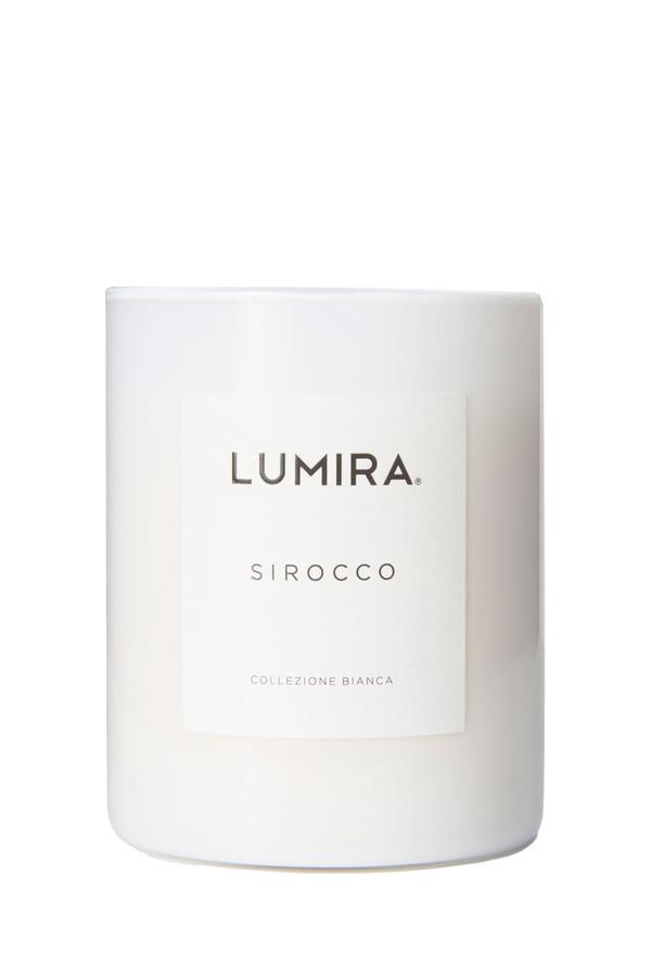 Lumira collezione bianca candle in sirocco