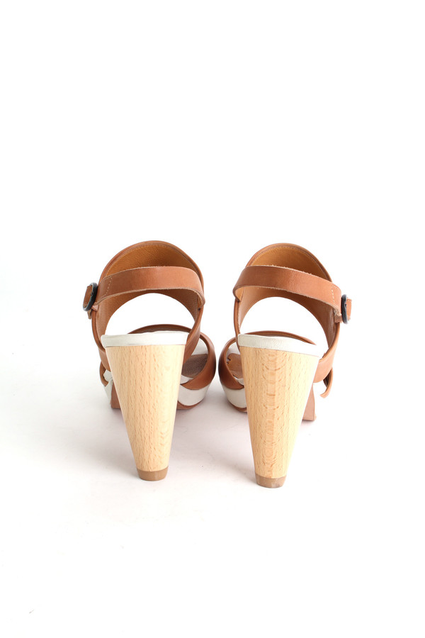 Coclico Lily platform in sahara/natural