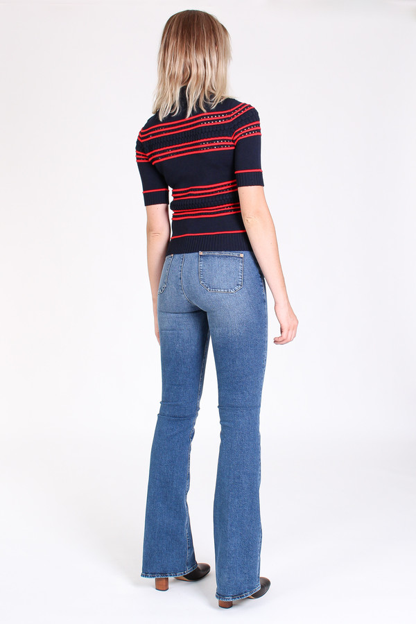 M.i.h Jeans Marrakesh high rise kick flare in casa