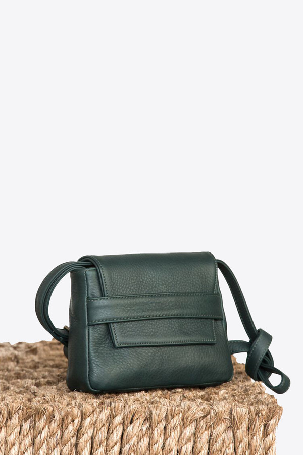 Ceri Hoover Mini challon handbag in mountain mist