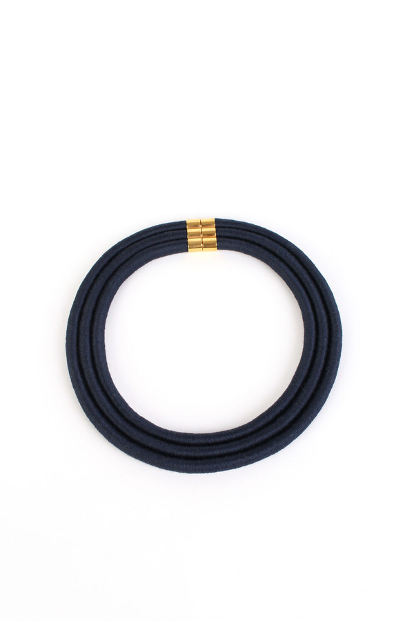 Eleanor Bolton Pharoah necklace in navy