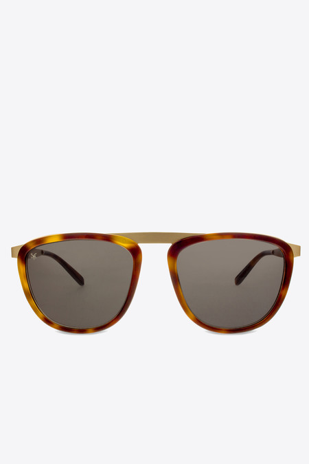 Smoke x Mirrors Pusherman sunglasses in tortoise