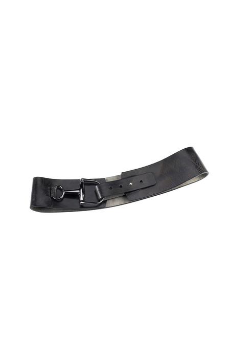 Brave Leather Tamma belt in black
