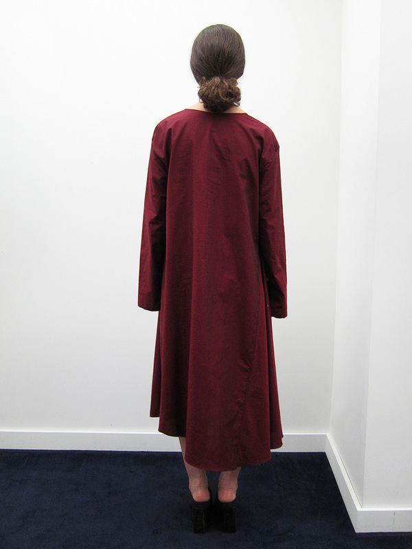 Kahle Gathered Inset L/S Dress