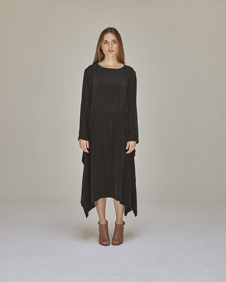 Shaina Mote Vespertine Dress in Ink