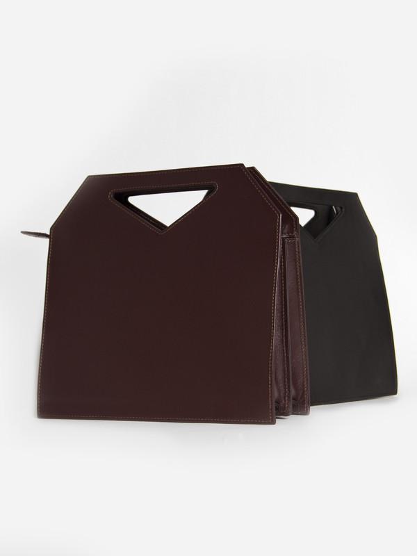 IMAGO-A Triad Bag Burgundy