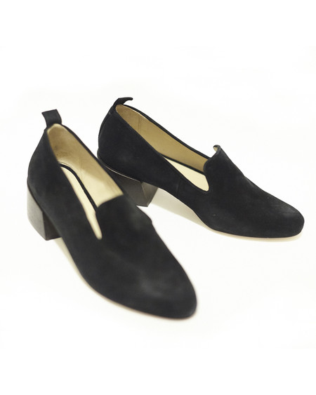 Mari Giudicelli Gavea loafers in black