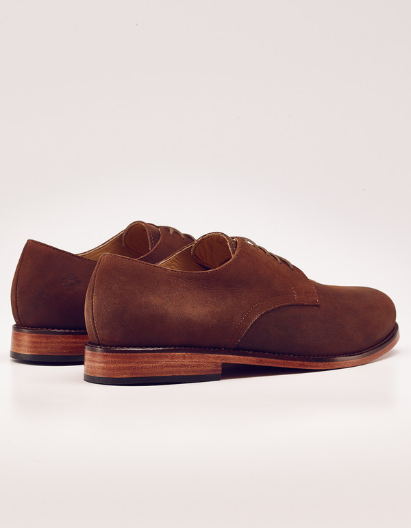 Mens Nisolo Wesley Oxford Oak