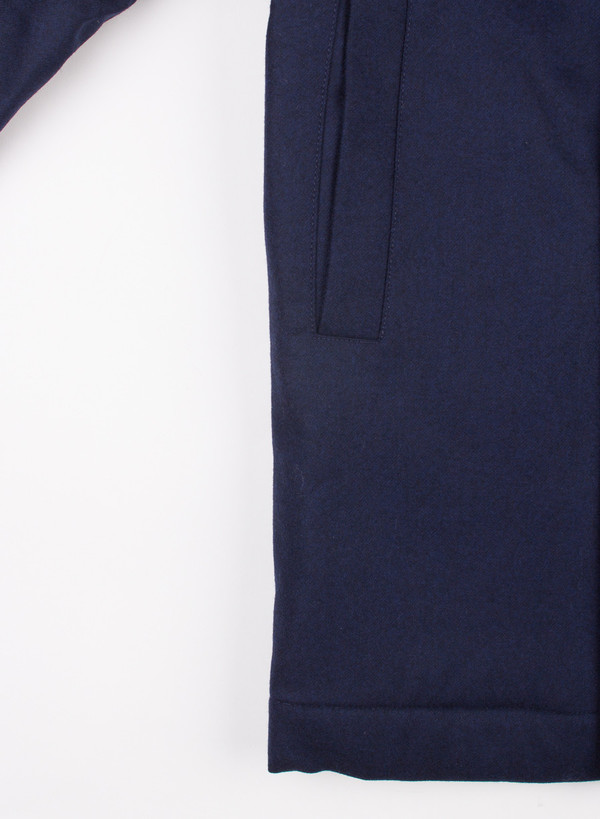 Men's Norse Projects Birk Wool Dark Navy