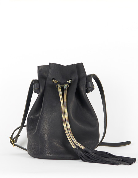Eleven Thirty Christie Large Bucket Bag Black