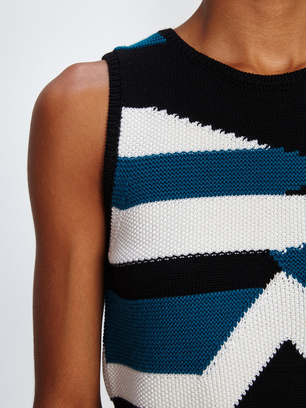 MILA ZOVKO NIVES SLEEVELESS SWEATER