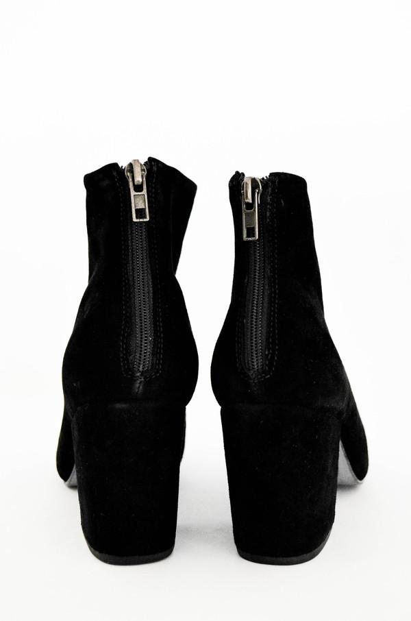 Rachel Comey Black Suede Tilden Boot
