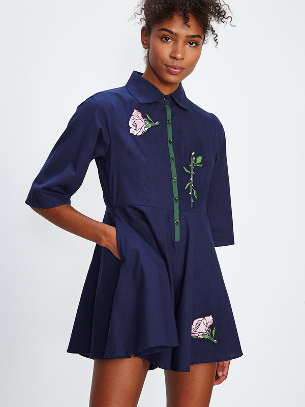 SAMANTHA PLEET SECRET GARDEN ROMPER
