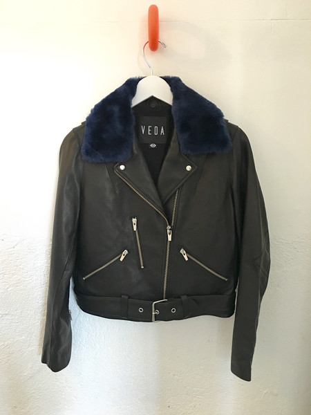 Veda National Leather Jacket