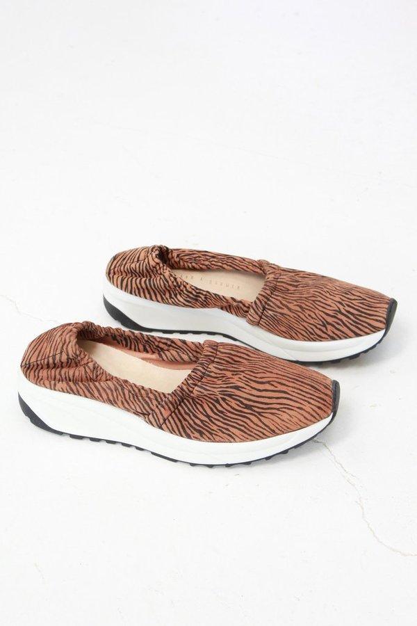 An Hour And A Shower Sponge Sneaker Zebra