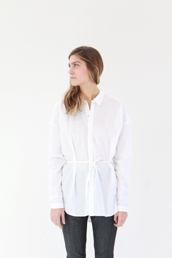 Kowtow Smith Shirt White