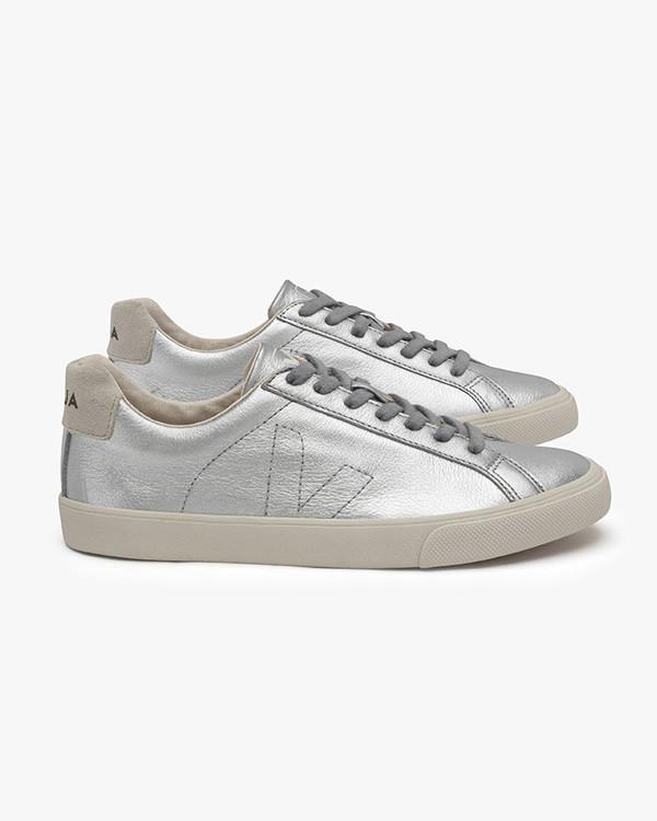 VEJA - Esplar Leather Silver