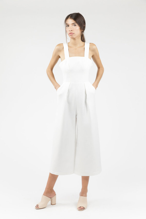 C/MEO Paradise Awaits Jumpsuit - White