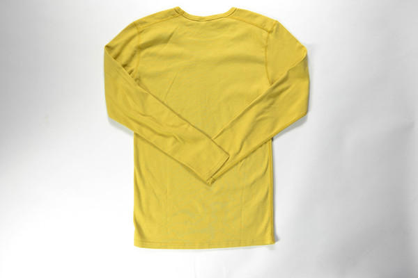 Velva Sheen Long Sleeve U-Neck Tee