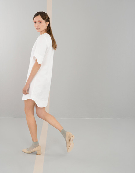 Elise Ballegeer Croquet Dress - White