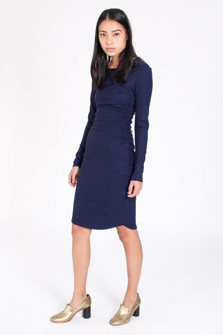 Obakki Ayens dress in navy